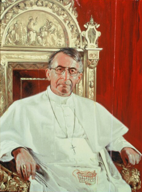 """Portrait of Pope John Paul I"""