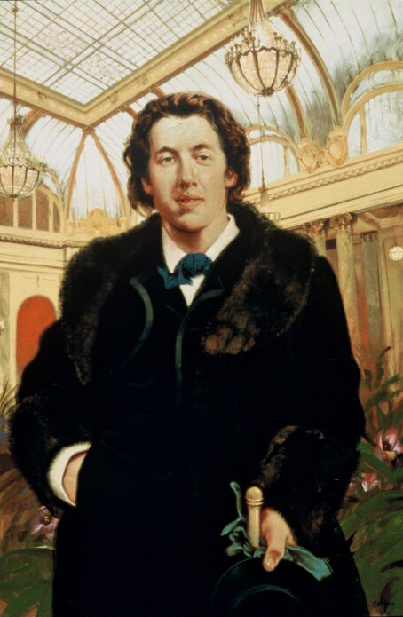 """Portrait of Oscar Wilde"""