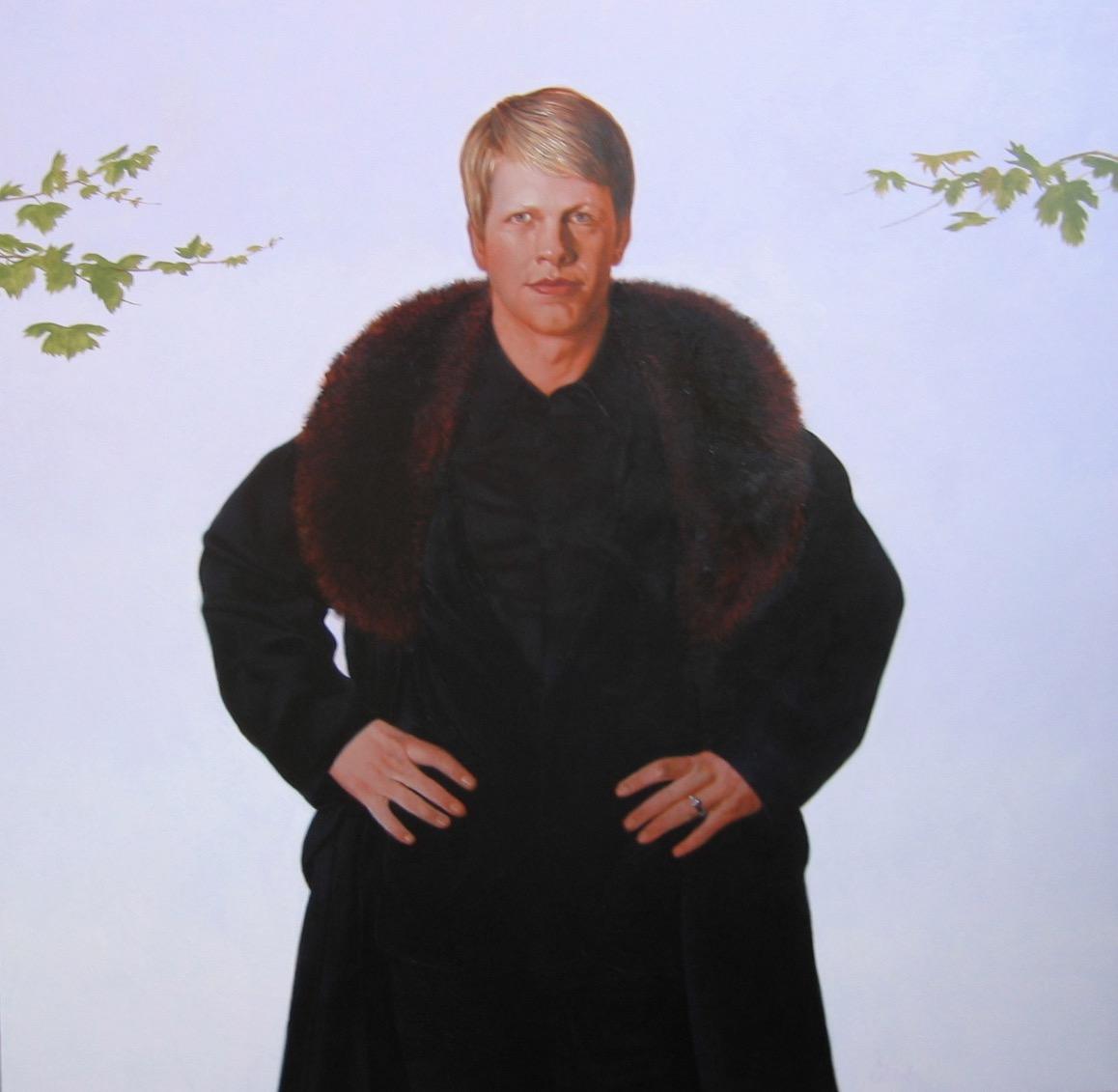 """Portrait of Bryan Walsingham"""