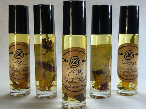 Egyptian Amber Essential Oil Roll On Perfume