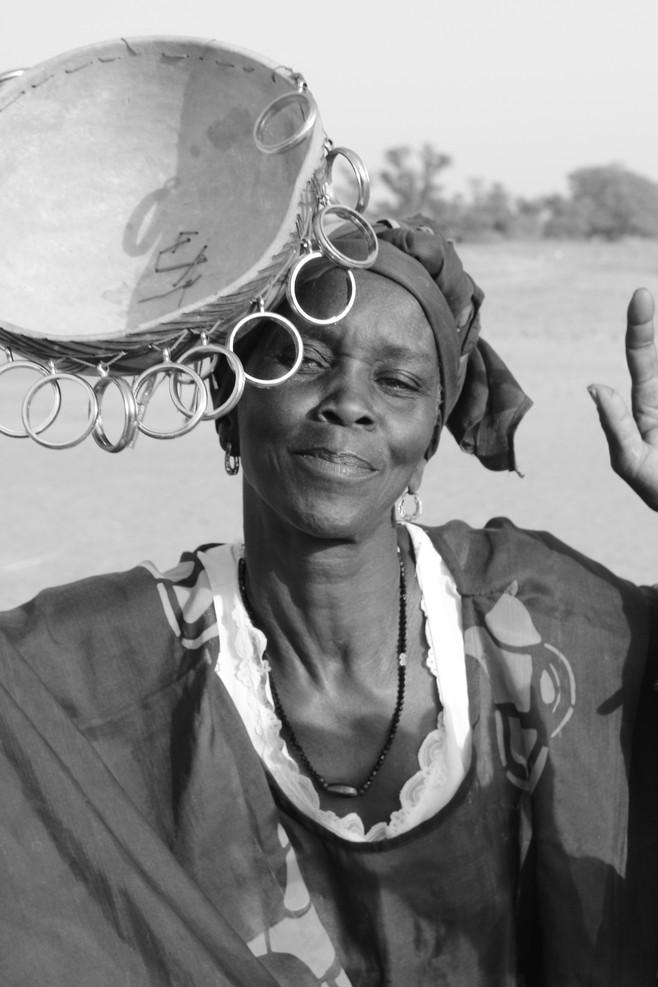 Portrait of a Senegalese woman