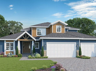 Brentwood 2 - 1.5 Story Home Plan