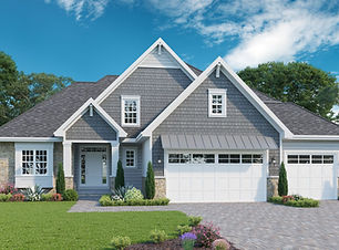 Brentwood 1 - 1.5 Story Home Plan