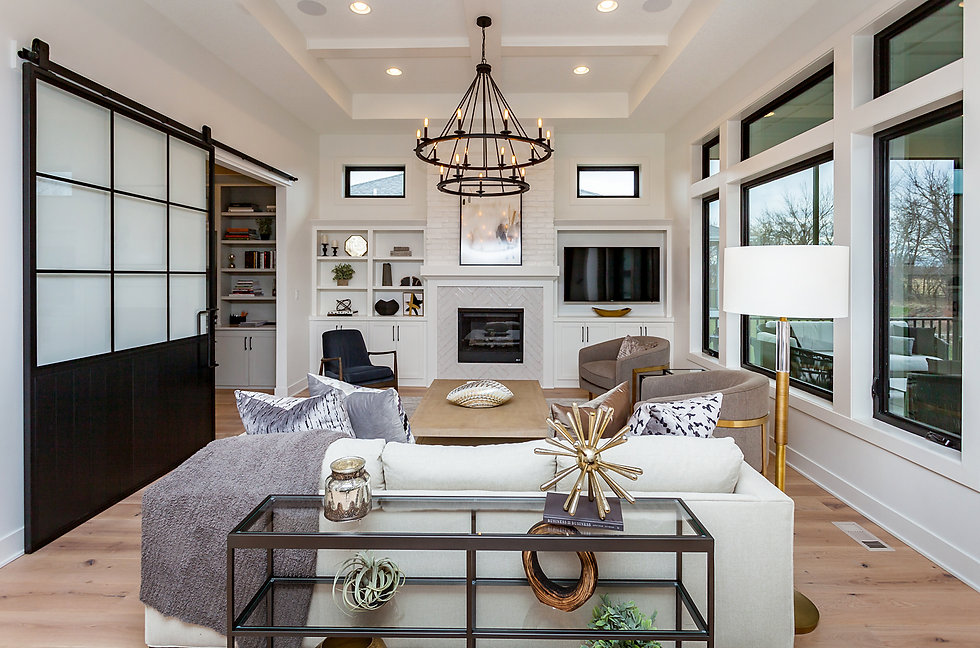 Custom Home by Des Moines Best Home Builder