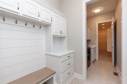 Custom Locker Station with Cabinet