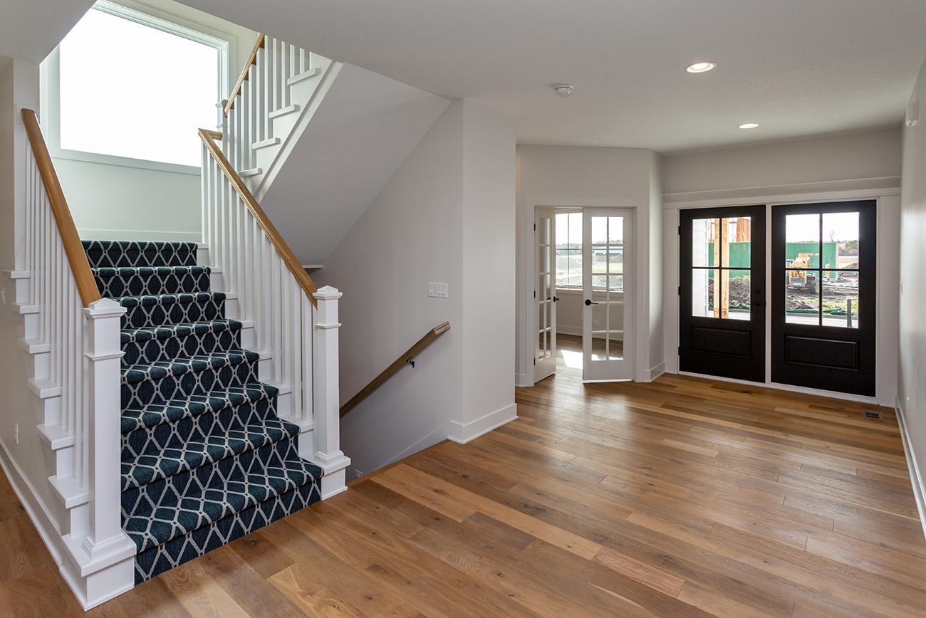 Farmhouse Open Staircase Runner