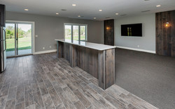 New Homes Basement Media Room