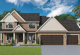 Madison - 2 Story Home Plan