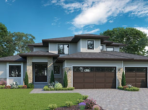 Brentwood 3 - 1.5 Story Home Plan