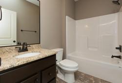 Oil Rubbed Bronze Fixtures in Bathroom