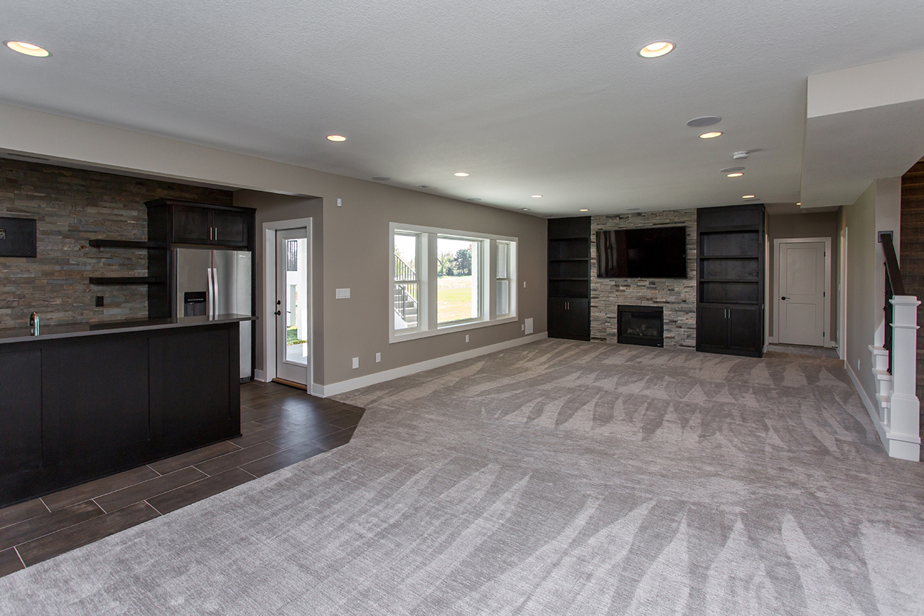 New Homes in Des Moines - Basement