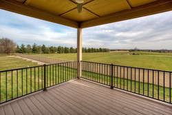 Covered Low Maintenance Deck