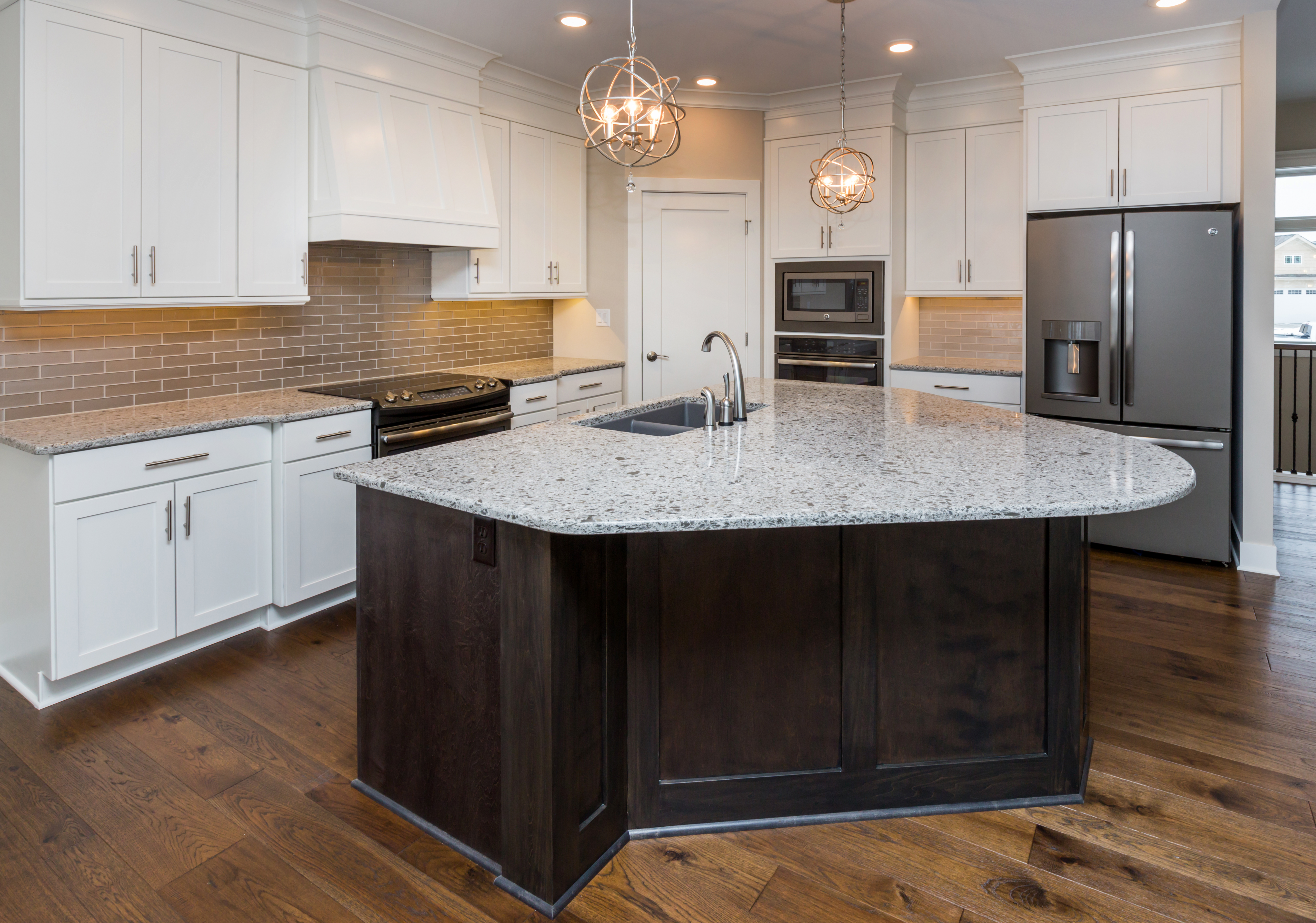 Custom Kitchen with Large Island