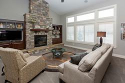 New Home Living Room Johnston