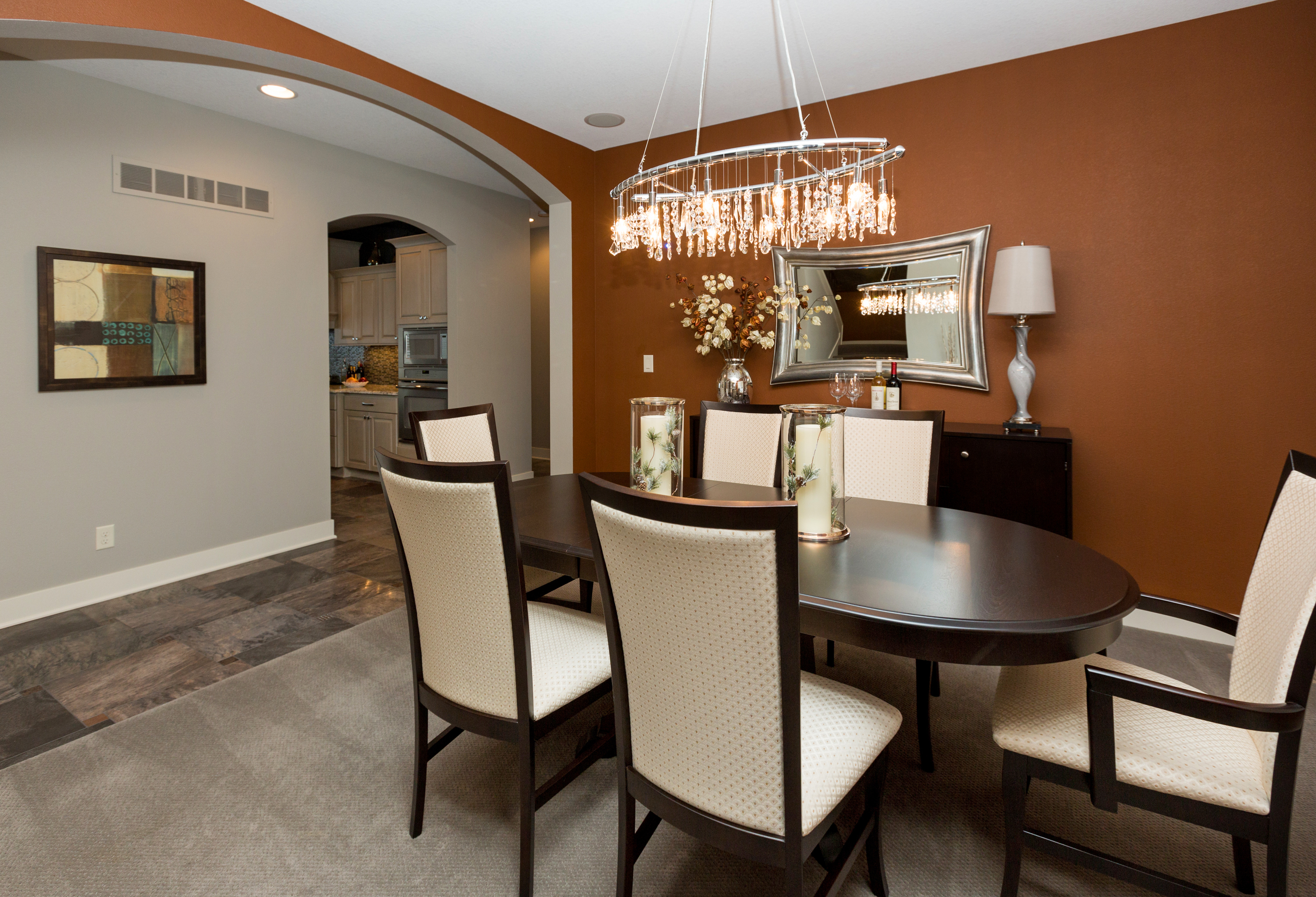 Formal Dining in New Home