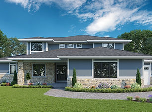 Fremont - 1.5 Story Home Plan