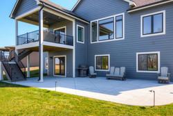Des Moines Patios Luxury Custom Homes