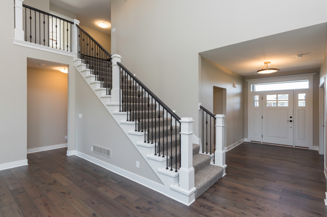 Open Staircase - Brentwood Plan