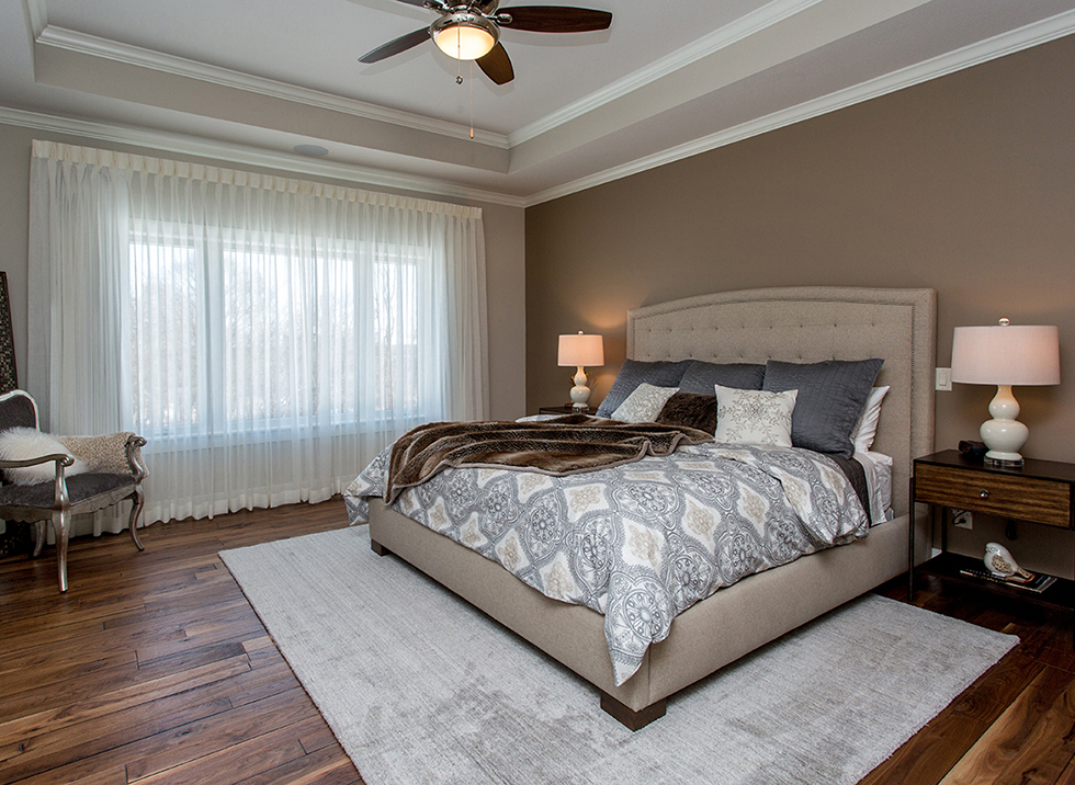 New Home Master Bedroom