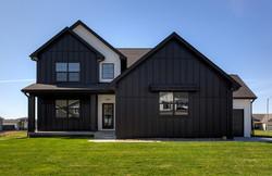 1.5 Story - Black and White Exterior Modern Farmhouse