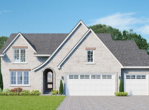 Cecelia Plan - Dynasty Homes European Style Sloped Roof