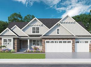 Arlington - 1.5 Story Home Plan
