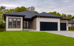 Walkout Ranch with Large Windows by Best