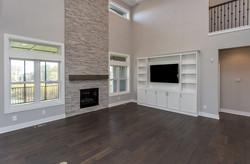Custom Living Room in New Home