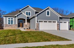 1.5 Story Exterior New Home, Gray