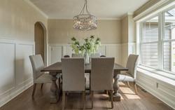 Dining Room - Custom Wainscoting