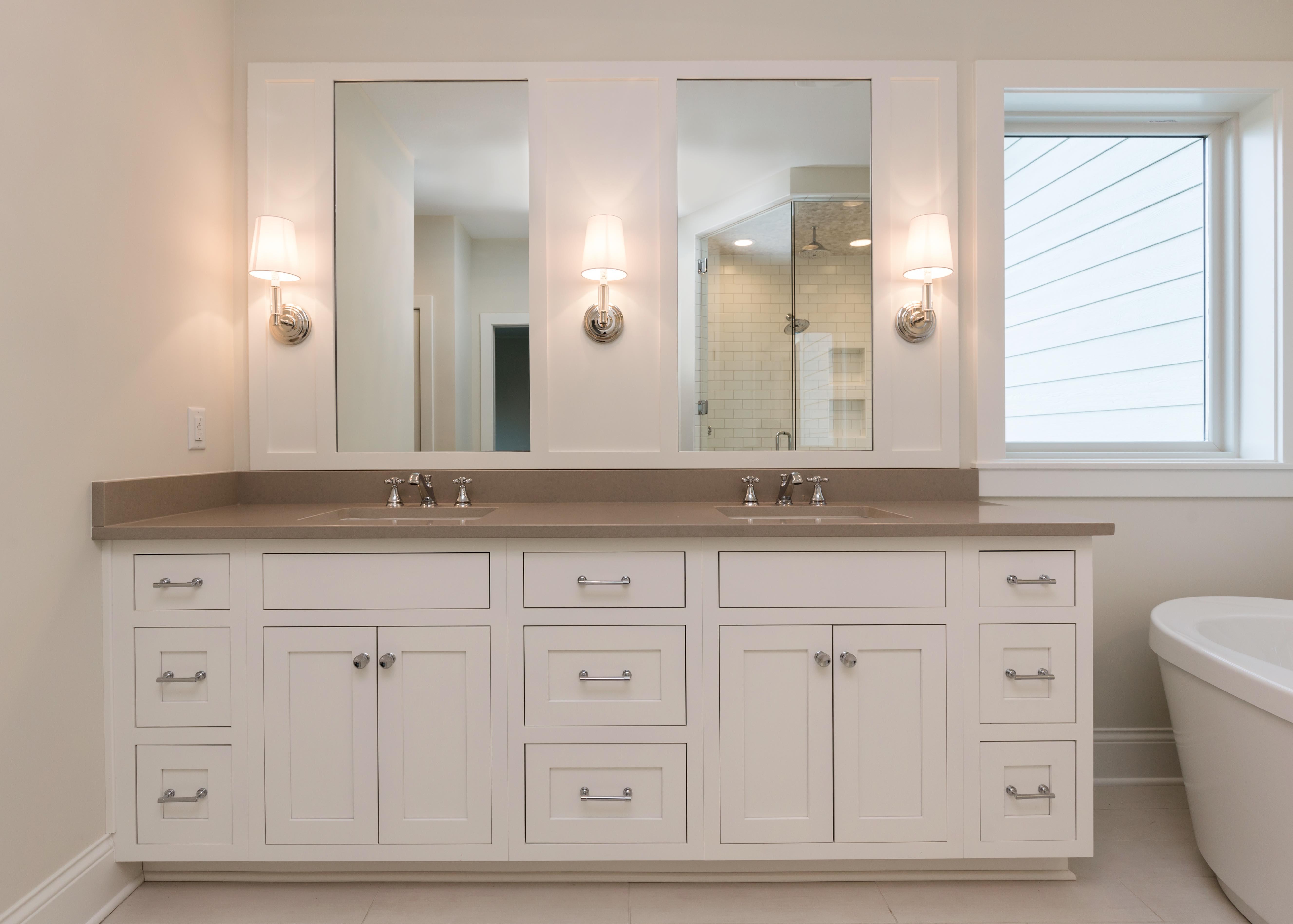 Master Bath by Custom Homebuilder