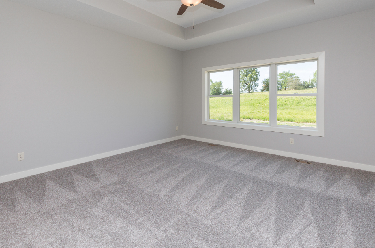 Tray Ceiling in Master Bedroom