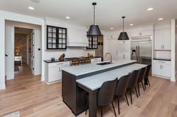 Modern Farmhouse Kitchen White Black