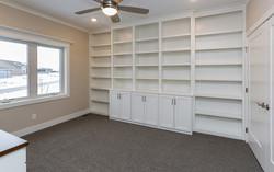 Custom Bookshelves - Ridgeland Plan