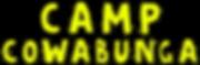Camp Cowabunga Logo FINAL rev words only