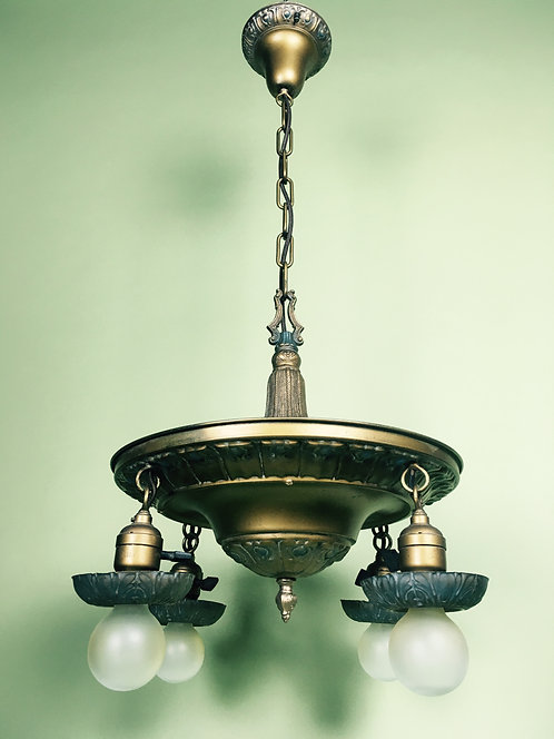 C. 1920 Drop Pan Light