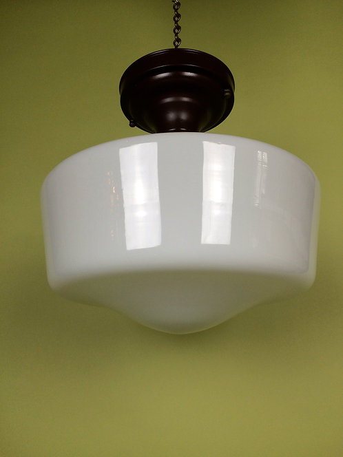 Milk Glass Globe