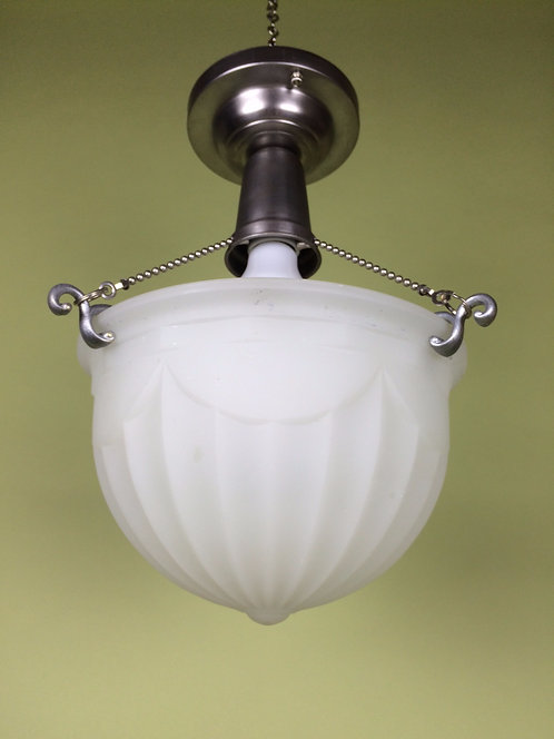 Embossed Bowl Light