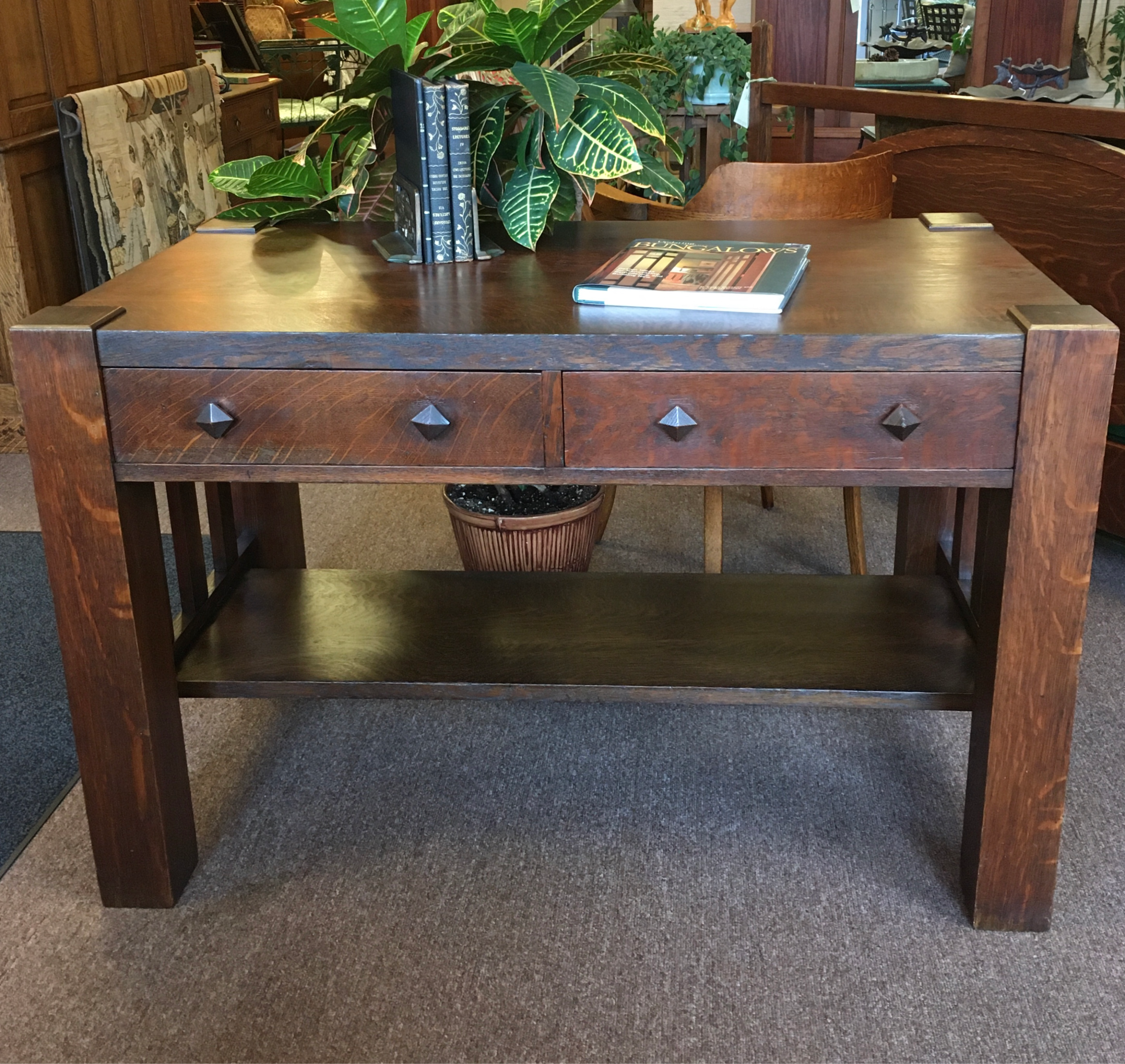 Circa 1910 Library Table