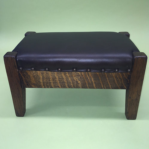 Circa 1910 Mission Footstool