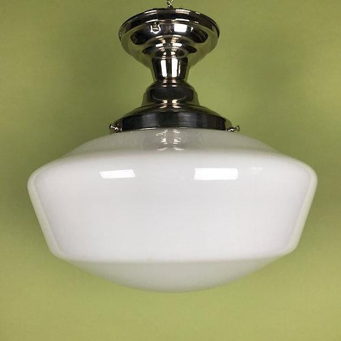 C. 1910 Milk Glass Globe