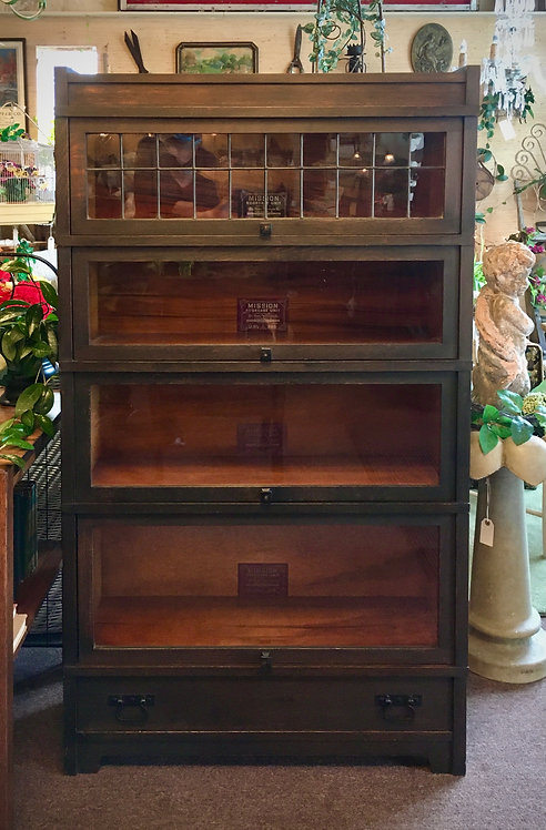 Mission Style Stacking Bookcase