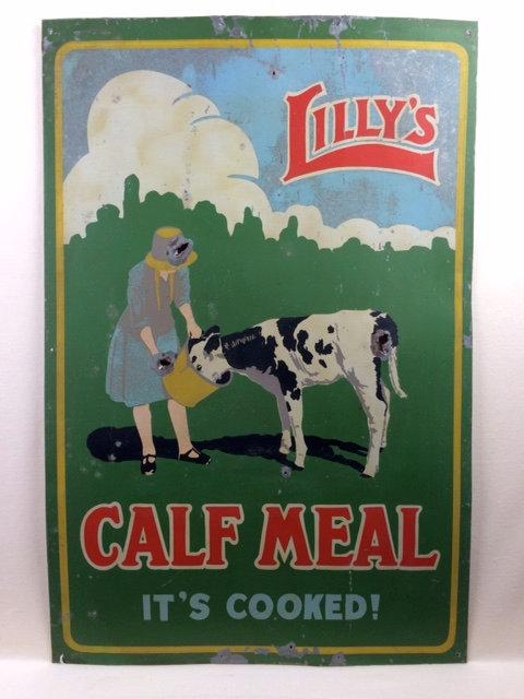 Lilies Calf Meal