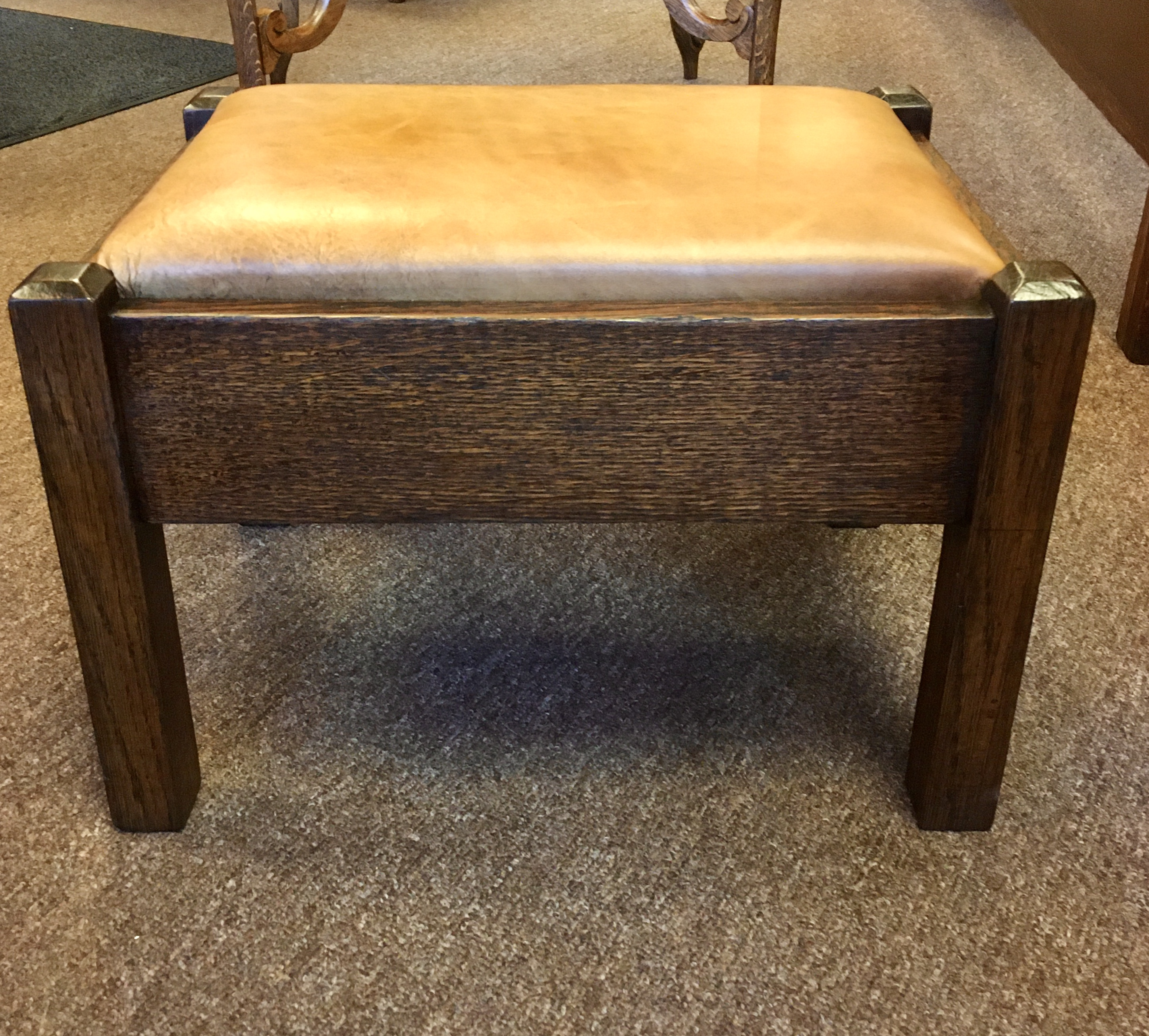 Mission Style Foot Stool