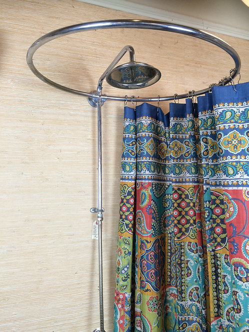 Shower Curtain Ring and Faucet Set