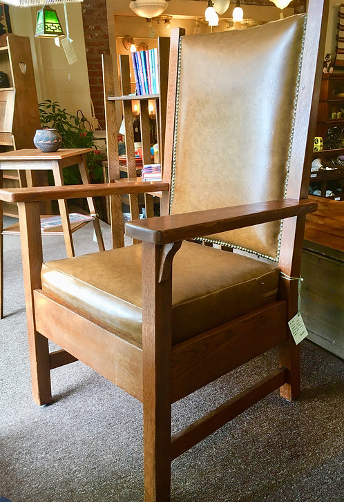 Quaint Label Stickley Chair