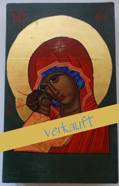 Gottesmutter von Vladimir (Portrait)
