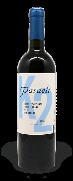 Pasaeli - K2 2017 Bordeaux Blend