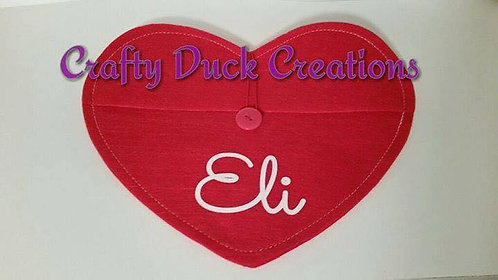 Personalized Valentine Envelope
