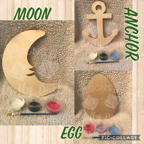 Take and Make Wood Cut Out Sign Kit